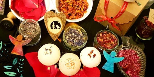 Christmas Gifts Bath Bombs Workshop