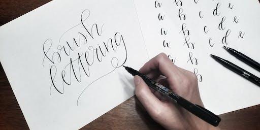 Beginner Brush Lettering