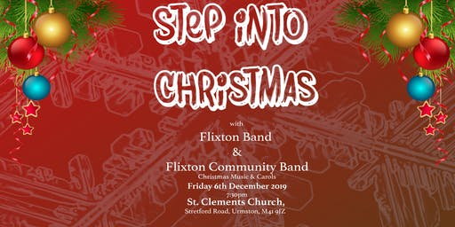 Step Into Christmas with Flixton Band