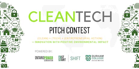 CleanTech Pitch Contest - with OPG & FastStart SHIFT! tickets