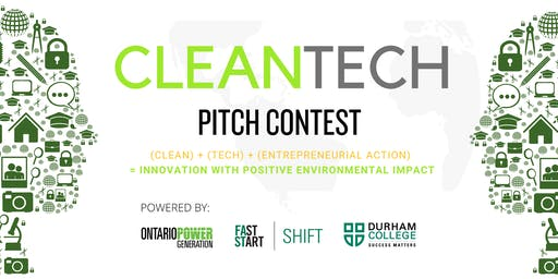 CleanTech Pitch Contest - with OPG & FastStart SHIFT!