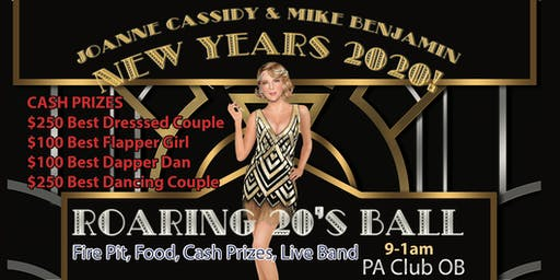 Roaring 20's Costume Ball