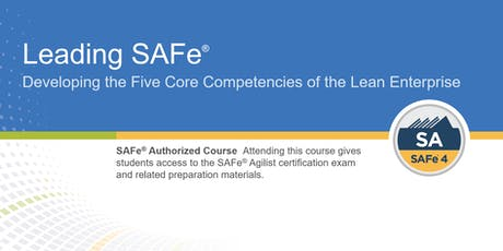 Leading SAFe® Certification Training in Toronto, Canada tickets