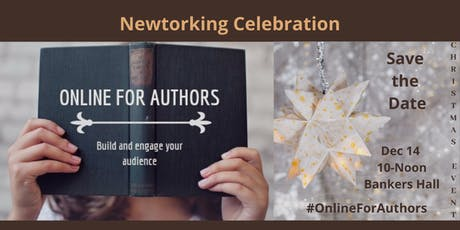 Online For Authors Christmas Networking Celebration tickets
