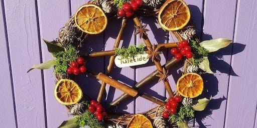 Yule Wreath Making Workshop // Coffee and Crystals