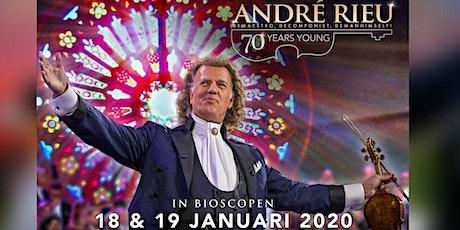 André Rieu 70 Years Young ....... Za 18/01 19 u. / Zo 19/01 16 u. tickets