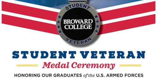 Broward College - Student Veterans Medal Ceremony