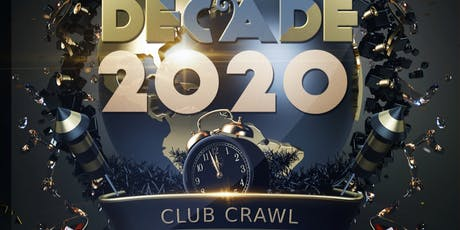 New Year's Eve Club Crawl Party Event 2019-2020 tickets