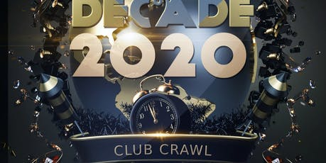 Toronto New Year's Eve 2020 - Club Crawl Party Countdown NYE tickets