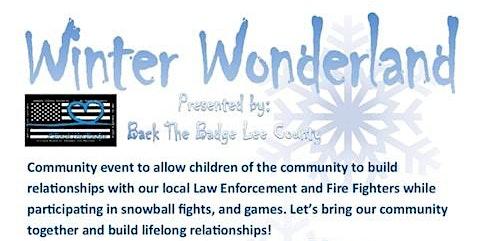 Winter Wonderland - Backing The Badges