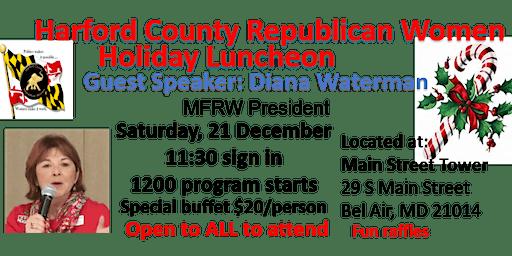 HCRW Christmas/Holiday Luncheon