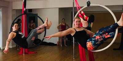 Aerial Hoop Beginners Jan 2020