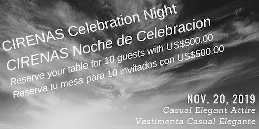 CIRENAS Celebration Night/Noche de Celebracion en Hotel CR Marriott, Belen.