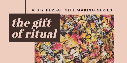 The Gift of Ritual : Bath Salt Blending