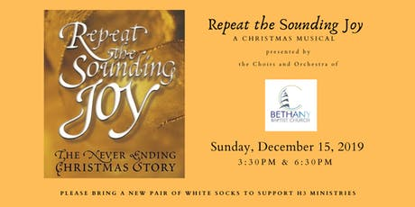 Repeat The Sounding Joy Christmas Musical tickets