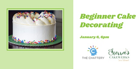 Beginner Cake Decorating tickets