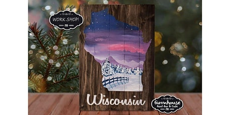 Step by Step - Welcome Winter Wood Sign (02-13-2020 starts at 6:00 PM) tickets