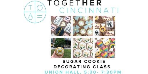 Together Digital Cincinnati Sugar Cookie Decorating Class