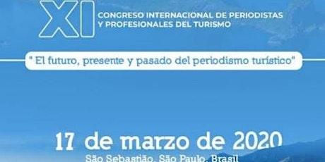 11º Congresso Internacional de Jornalistas e Profissionais de Turismo ingressos