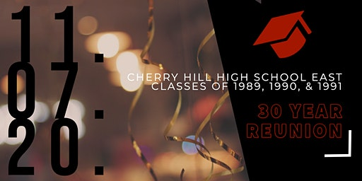 Cherry Hill East Classes of 1989,1990, and 1991 Reunion