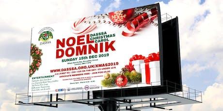 DASSSA Christmas Carol (Noel Domnik) 2019 tickets