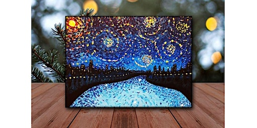 Step by Step - Starry Night (01-25-2020 starts at 7:00 PM)