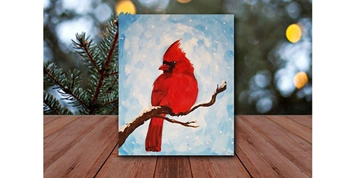 Step by Step - Cardinal in the Snow (01-24-2020 starts at 8:00 PM)