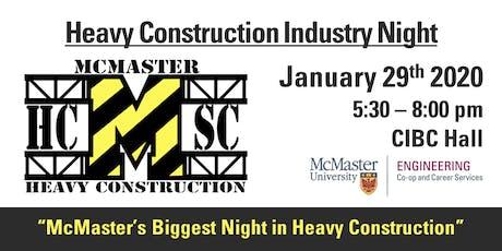 2020 Heavy Construction Industry Night tickets