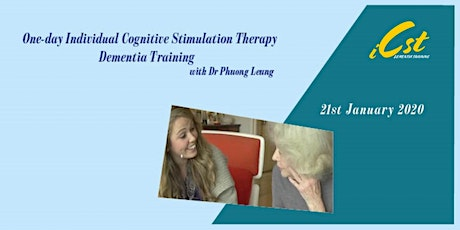 Individual Cognitive Stimulation Therapy Dementia Training and Education tickets