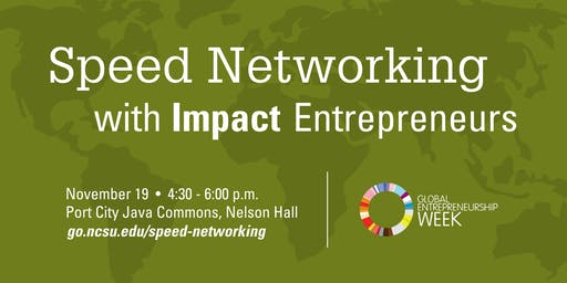 Speed Networking with Impact Entrepreneurs