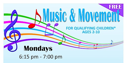 Children's Music & Movement - Ages 2-10