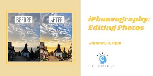 iPhoneography: Editing Photos