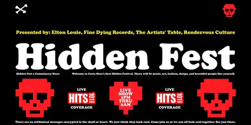 Hidden Fest (Art, Music, Design, Fashion)