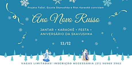 Ano Novo Russo ingressos
