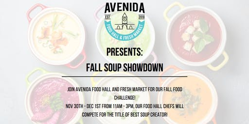 Avenida Food Hall & Fresh Market  Soup Showdown