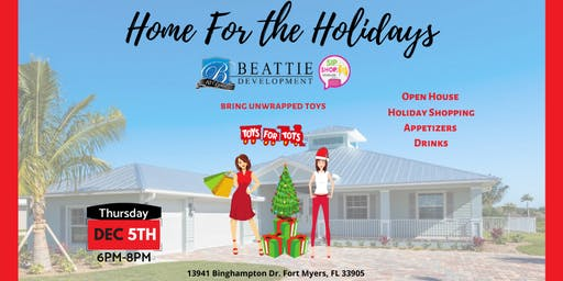 Home For The Holidays! Sip Shop Socialize