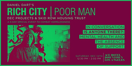 RICH CITY TALKS: Is Anybody There? Mental Health and the Absence of Support tickets