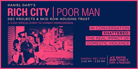 RICH CITY TALKS: Shattered: The Real Impact Of Domestic Violence & Trauma tickets