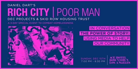 RICH CITY TALKS: The Power Of Story - Using Media To Help Our Community tickets