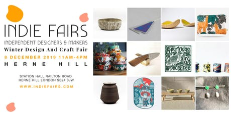 WINTER DESIGN & CRAFT FAIR SOUTH LONDON (HERNE HILL) tickets