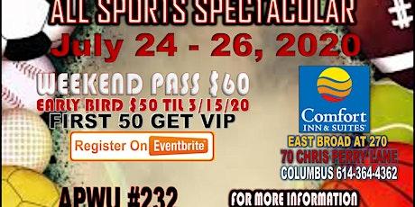 MWRLDC Sports Spectacular tickets