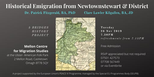 Historical Emigration from Newtownstewart & District (Lecture)