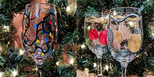Holiday Wine Glass Paint Event