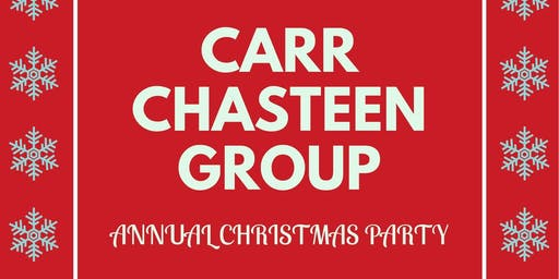 Carr Chasteen Group Annual Christmas Party
