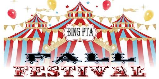 Bing PTA Fall Festival
