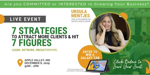 Top 7 Strategies for Attracting Clients & Hitting 7 Figures [Networking]