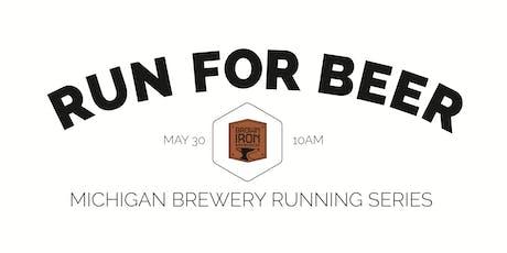 Beer Run - Brown Iron 5K   Part of the 2020 Michigan Brewery Running Series tickets