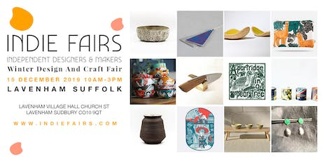 WINTER DESIGN AND CRAFT FAIR LAVENHAM, SUFFOLK tickets