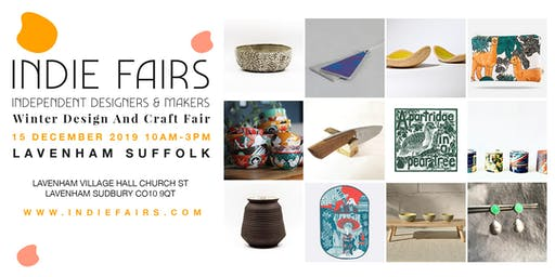 WINTER DESIGN AND CRAFT FAIR LAVENHAM, SUFFOLK