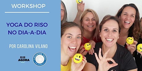 Workshop Yoga do Riso no dia-a-dia bilhetes